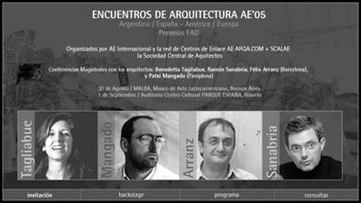 encuentros AE'05 BsAs
