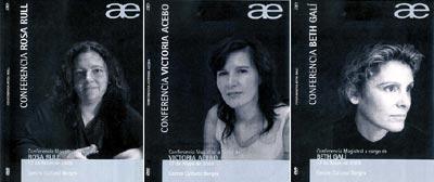 encuentro AE de mayo de 2005, conferencias
