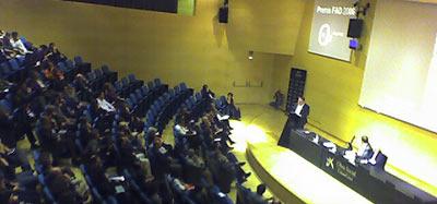 Discurso de Quim Larrea en la entrega de Premios FAD 2006