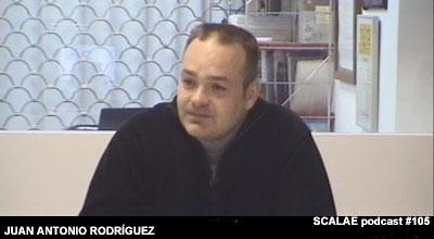 Juan Antonio Rodríguez en el Centro de Enlace AE BCN para SCALAE