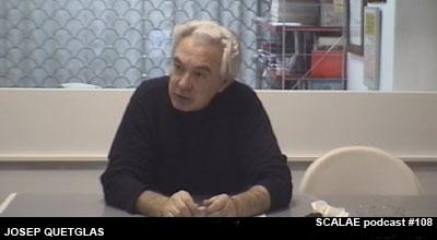 Josep Quetglas en el Centro de Enlace AE BCN para SCALAE
