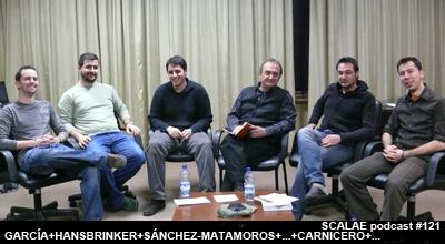 Samuel García, Hansbrinker, Javier Sánchez-Matamoros, Félix Arranz, Alvaro Carnicero y Carlos Cámara