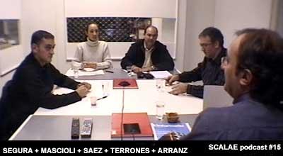 Participantes del episodio 15 en el Centro de Enlace AE BCN