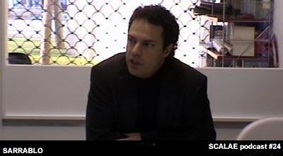 Vicente Sarrablo en el episodio 24 en el Centro de Enlace AE BCN