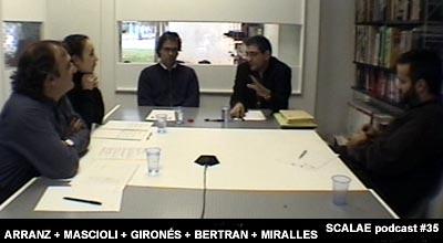 Josep Bertran y Toni Girones para un episodio podcast de SCALAE