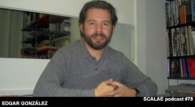 Edgar González en el Centro de Enlace AE BCN para SCALAE