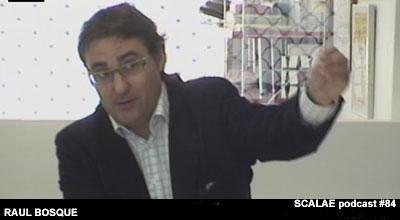 Raul Bosque en el Centro de Enlace AE BCN para SCALAE